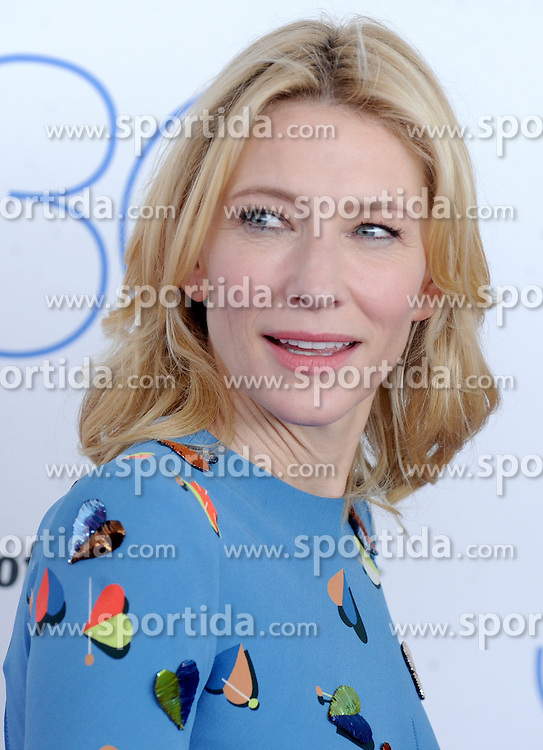 Cate Blanchett at the 30th Film Independent Spirit Awards 2015 - Arrivals 1, Santa Monica Beach, Santa Monica, CA February 21, 2015. EXPA Pictures &copy; 2015, PhotoCredit: EXPA/ Photoshot/ Dennis Van Tine<br /> <br /> *****ATTENTION - for AUT, SLO, CRO, SRB, BIH, MAZ only*****