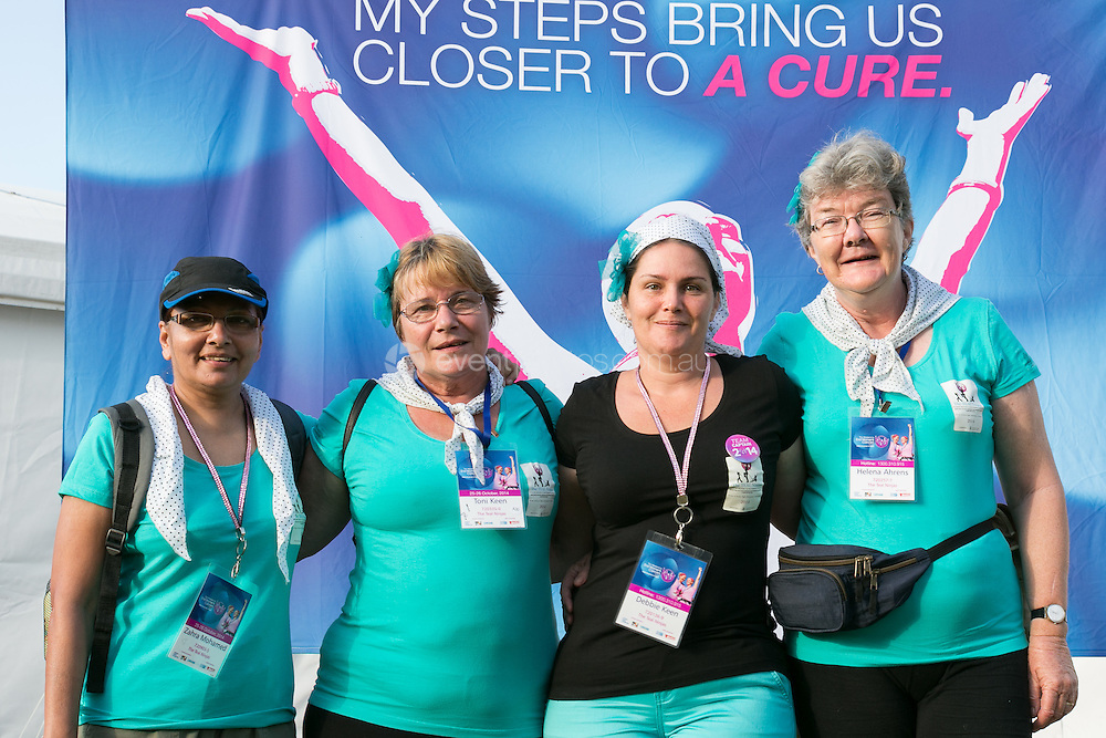 The Weekend to End Women's Cancers. CORPORATE / EVENT: Day 2. The Weekend to End Women's Cancers. Brisbane. Queensland. 2014. Photo: Pat Brunet/Event Photos Australia