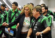 Wellington-Mexico football team arrive FIFA World Cup qualifier