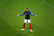 Kylian MBAPPE (FRA) reacted during the FIFA Friendly Game football match between France and Republic of Ireland on May 28, 2018 at Stade de France in Saint-Denis near Paris, France - Photo Stephane Allaman / ProSportsImages / DPPI