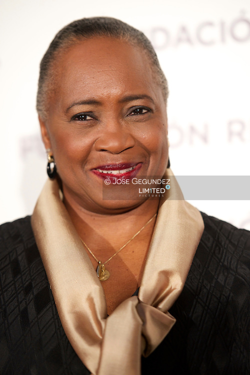 Barbara Hendricks presents her Memories, 'In Own Voice (En propia voz)' at Casino de Madrid on May 23, 2013 in Madrid