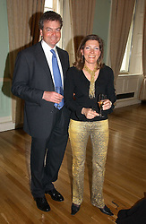 TIM & DARIA COLERIDGE at a party to celebrate the publication of 'A Much Married Man' by Nicholas Coleridge held at the ESU, Dartmouth House,  37 Charles Street, London W1 on 4th May 2006.<br /><br />NON EXCLUSIVE - WORLD RIGHTS