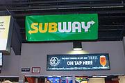 KELOWNA, CANADA - MARCH 24:  Subway at the Kelowna Rockets game on March 24, 2018 at Prospera Place in Kelowna, British Columbia, Canada.  (Photo By Cindy Rogers/Nyasa Photography,  *** Local Caption ***