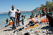 Syrian Refugees come to Greece