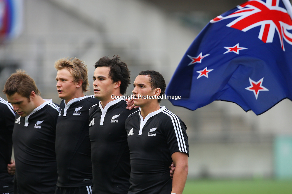 U-20 New Zealand Team Group (NZL), JUNE 17, 2009 - Rugby union, New Zealand v Australia. IRB TOSHIBA Junior WorldChampionship 2009, Photo by Daiju Kitamura/AFLO SPORT