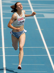 Tina Jures of Slovenia competes in the Womens 200m Heat during day four of the 20th European Athletics Championships at the Olympic Stadium on July 30, 2010 in Barcelona, Spain. (Photo by Vid Ponikvar / Sportida)