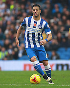 Brighton central midfielder Beram Kayal during the Sky Bet Championship match between Brighton and Hove Albion and Milton Keynes Dons at the American Express Community Stadium, Brighton and Hove, England on 7 November 2015. Photo by Bennett Dean.