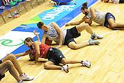 Trieste, 08/08/2012<br /> Baslet, Nazionale Italiana Maschile Senior<br /> Allenamento<br /> Nella foto: Giuseppe Poeta, daniele magro<br /> Foto Ciamillo
