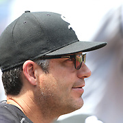 NEW YORK, NEW YORK - June 01:  Manager Robin Ventura #23 of the Chicago White Sox in the dugout during the Chicago White Sox  Vs New York Mets regular season MLB game at Citi Field on June 01, 2016 in New York City. (Photo by Tim Clayton/Corbis via Getty Images)