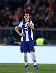 February 12, 2019 - Rome, Italy - AS Roma v FC Porto : UEFA Champions League Round of 16 .Hector Herrera of Porto at Olimpico Stadium in Rome, Italy on February 12, 2019. (Credit Image: © Matteo Ciambelli/NurPhoto via ZUMA Press)