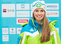 Neva Pancur during presentation of Team Slovenia for European Youth Olympic Festival - EYOF Brasov 2013 on February 13, 2013 in Bled, Slovenia. (Photo By Vid Ponikvar / Sportida)