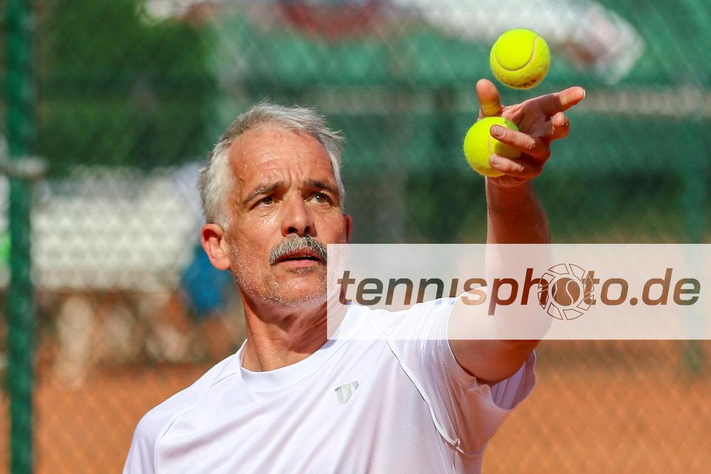 Jochen Helmeke (TC BW Hünfeld), 16. Grün-Weiß Nikolassee Seniorenturnier, Berlin, 21.05.2018, Foto: Claudio Gärtner
