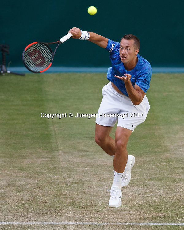 PHILIPP KOHLSCHREIBER (GER)<br /> <br /> Tennis - Gerry Weber Open 2017 - ATP 500 -  Gerry Weber Stadion - Halle / Westf. - Nordrhein Westfalen - Germany  - 21 June 2017. <br /> &copy; Juergen Hasenkopf