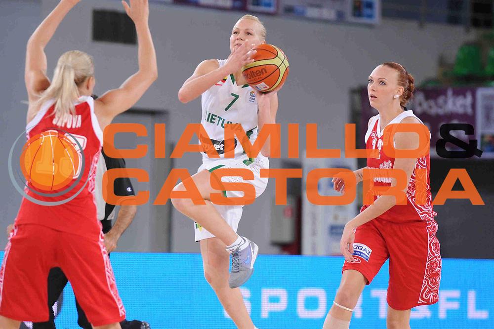 DESCRIZIONE : Bydgoszcz Poland Polonia Eurobasket Women 2011 Round 1 Lituania Russia Lithuania Russia<br /> GIOCATORE : Ausra Bimbaite<br /> SQUADRA : Lituania Lithuania<br /> EVENTO : Eurobasket Women 2011 Campionati Europei Donne 2011<br /> GARA : Lituania Russia Lithuania Russia<br /> DATA : 19/06/2011 <br /> CATEGORIA : <br /> SPORT : Pallacanestro <br /> AUTORE : Agenzia Ciamillo-Castoria/M.Marchi<br /> Galleria : Eurobasket Women 2011<br /> Fotonotizia : Bydgoszcz Poland Polonia Eurobasket Women 2011 Round 1 Lituania Russia Lithuania Russia<br /> Predefinita :