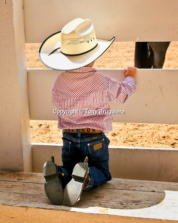 Cowboys start young dreaming of being in the arena at Cheyenne Frontier Days, the world's largest outdoor rodeo and western celebration.