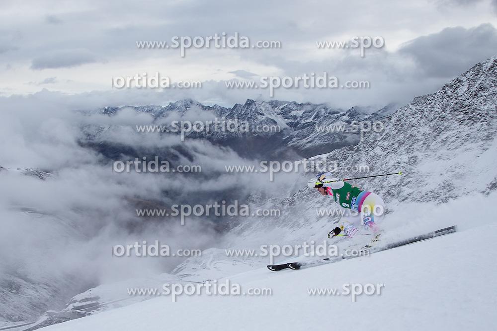 27.10.2012, Rettenbachferner, Soelden, AUT, FIS Weltcup, Ski Alpin, Riesenslalom, Damen, 1. Durchgang, im Bild Lindsey Vonn (USA) // Lindsey Vonn of USA during first Run of Ladies Giant Slalom of the FIS Ski Alpine Worldcup at Rettenbach Glacier, Soelden, Austria on 2012/10/27. EXPA Pictures © 2012, PhotoCredit: EXPA/ Johann Groder