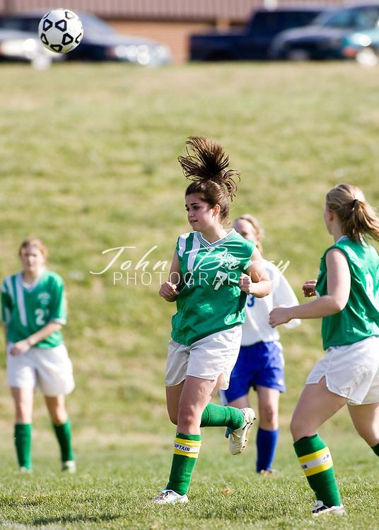 MCHS JV Girls Soccer .vs Greene .April 3, 2006