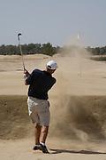 Abu Dhabi, United Arab Emirates (UAE). March 20th 2009.<br /> Al Ghazal Golf Club.<br /> 36th Abu Dhabi Men's Open Championship.<br /> Paul King