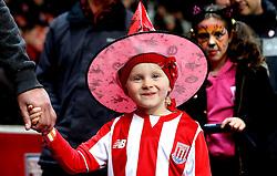 Stoke City fan in a Halloween costume - Mandatory by-line: Robbie Stephenson/JMP - 31/10/2016 - FOOTBALL - Bet365 Stadium - Stoke-on-Trent, England - Stoke City v Swansea City - Premier League