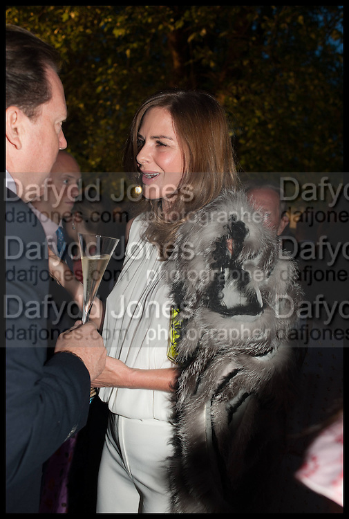 TRINNY WOODALL, Cartier dinner in celebration of the Chelsea Flower Show. The Palm Court at the Hurlingham Club, London. 19 May 2014.