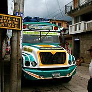 Bus Colectivo. San Pedro la Laguna