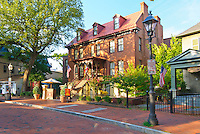 The historic Governor Calvert House hotel, Annapolis, Maryland.