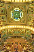 Masonic Temple, Ceiling Design, Architect James Windrim, 1 Broad St., Philadelphia, PA