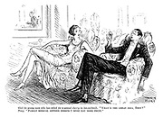 """Girl (to young man who has asked for a second cherry in his cocktail). """"What's the great idea, Tony?"""" Tony. """"Family medical adviser insists I must eat more fruit."""""""