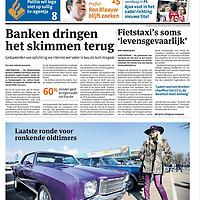 Parool voorpagina oldtimers 2 april 2013