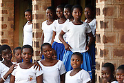 Camfed beneficiaries at the Tamale Senior High School in Tamale, Northern Region, Ghana on Thursday November 3, 2011.