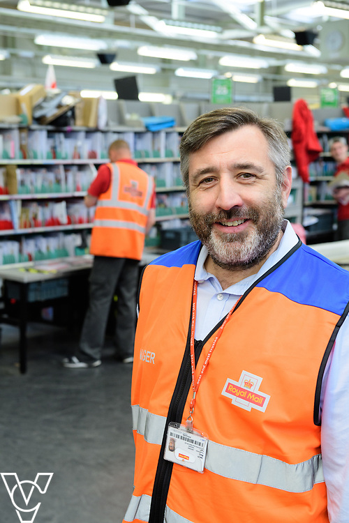 Royal Mail - Rugby mail processing unit.  Pictured is delivery office manager Jason King.<br /> <br /> Picture: Chris Vaughan Photography<br /> Date: May 5, 2017