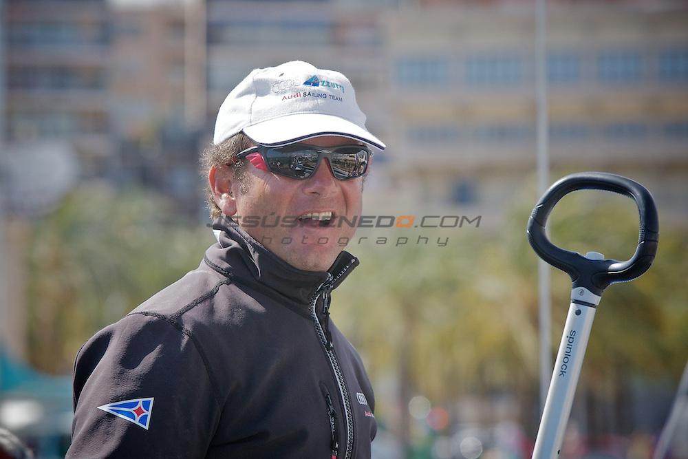 Palmavela 2012.Audi Azzurra Sailing Team tp52.FOTO © Jesus Renedo