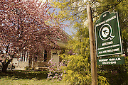 Reading Friends (Quaker) Meetinghouse, Historic Reading, 1800s Building, Springtime, Reading, Pennsylvania