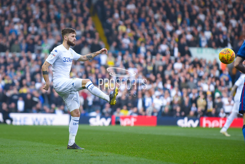 Mateusz Klich of Leeds United (43) passes the ball during the EFL Sky Bet Championship match between Leeds United and Bolton Wanderers at Elland Road, Leeds, England on 23 February 2019.