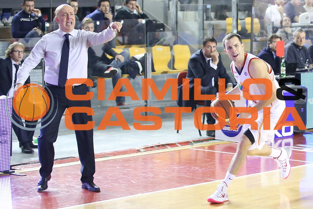 DESCRIZIONE : Roma Campionato Lega A 2013-14 Acea Virtus Roma Grissin Bon Reggio Emilia <br /> GIOCATORE :  Massimiliano Menetti <br /> CATEGORIA : delusione<br /> SQUADRA : Grissin Bon Reggio Emilia<br /> EVENTO : Campionato Lega A 2013-2014<br /> GARA : Acea Virtus Roma Grissin Bon Reggio Emilia <br /> DATA : 22/12/2013<br /> SPORT : Pallacanestro<br /> AUTORE : Agenzia Ciamillo-Castoria/M.Simoni<br /> Galleria : Lega Basket A 2013-2014<br /> Fotonotizia : Roma Campionato Lega A 2013-14 Acea Virtus Roma Grissin Bon Reggio Emilia <br /> Predefinita :