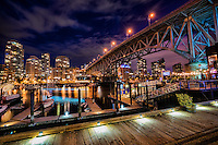 Granville Bridge @ Night, Vancouver