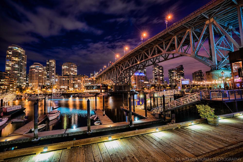 Granville Bridge @ Night, Vancouver