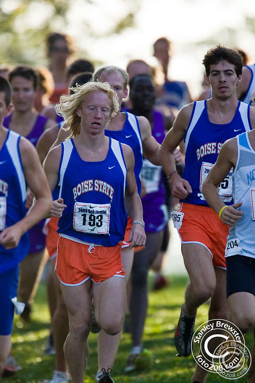 The Boise state mens and womens cross country teams competed at the 2009 Bob Firman Invitational meet at Eagle island State Park in Eagle Idaho.