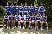 SONDRIO, ESTATE 2002<br /> POSATI NAZIONALE ITALIANA MASCHILE<br /> NELLA FOTO: TEAM<br /> FOTO CIAMILLO