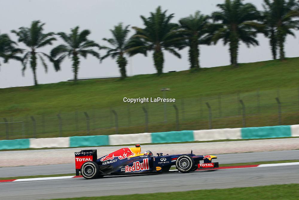 &copy; Photo4 / LaPresse<br /> 23/3/2012 Sepang<br /> Malaysian Grand Prix, Sepang 2012<br /> In the pic: Sebastian Vettel (GER), Red Bull Racing, RB8