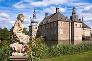 DEU, Germany, North Rhine-Westphalia, Dorsten, moated castle Lembeck.<br /> <br /> DEU, Deutschland, Nordrhein-Westfalen, Dorsten, Wasserschloss Lembeck.