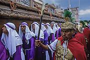 Holy Week. San Francisco procession