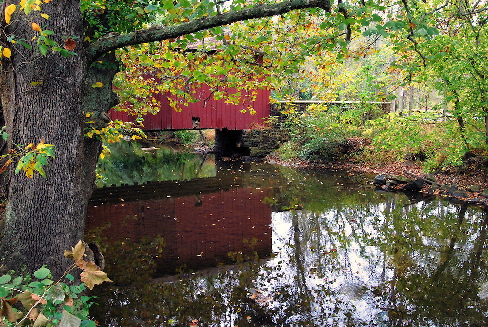 Covered Bridge at Ashland, Delaware