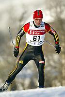 Langrenn, 22. november 2003, Verdenscup Beitostølen,  Rene Sommerfeldt, Tyskland