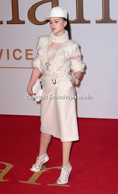 "Jan 14, 2015 - ""Kingsman: The Secret Service"" - World Premiere - Red Carpet Arrivals at Odeon,  Leicester Square, London<br /> <br /> Pictured: Viktoria Modesta<br /> ©Exclusivepix Media"