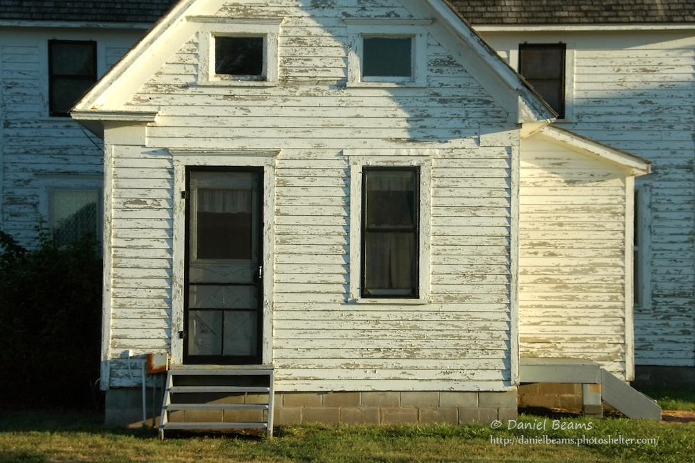 Mennonite farm house, Gossell, Kansas