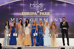 28.02.2015, Europapark Dom, Rust, GER, Miss Germany Wahl 2015, im Bild Die Finalteilnehmerinnen // during the election to Miss Germany 2015 at the Europapark Dom in Rust, Germany on 2015/02/28. EXPA Pictures © 2015, PhotoCredit: EXPA/ Eibner-Pressefoto/ BW-Foto<br /> <br /> *****ATTENTION - OUT of GER*****