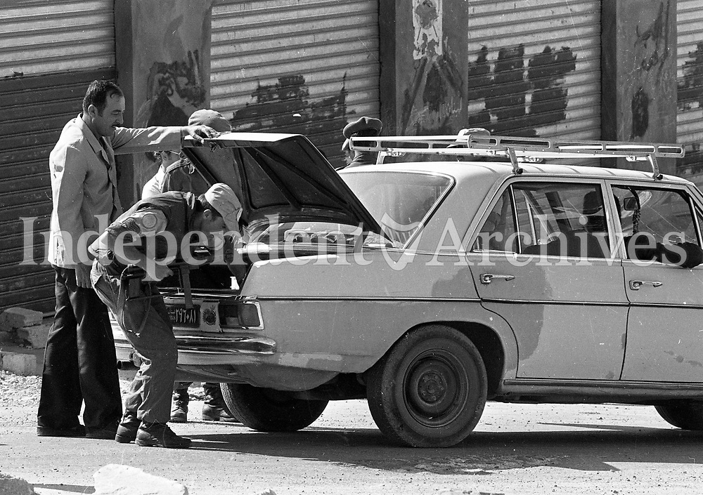 UN Checkpoint in Tyre, Lebanon, 15/06/1978 (Part of the Indepedent Newspapers Ireland/NLI Collection).