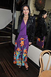YASMIN MILLS at a party to celebrate the publication of Seductive Interiors by Sara Hersham Loftus at Julie's, 135 Portland Road, London W11 on 15th November 2012.