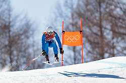 13.02.2018, Jeongseon Alpine Centre, Pyeongchang, KOR, PyeongChang 2018, Ski Alpin, Herren, Kombination, im Bild Riccardo Tonetti (ITA) // Riccardo Tonetti of Italy during the Mens Ski Men's Alpine Combined of the Pyeongchang 2018 Winter Olympic Games at the Jeongseon Alpine Centre in Pyeongchang, South Korea on 2018/02/13. EXPA Pictures © 2018, PhotoCredit: EXPA/ Johann Groder
